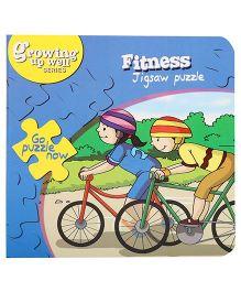Fafa N Juno Fitness Jigsaw Puzzle Book