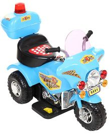 Battery Operated Bike Ride On Blue And Black - 9991