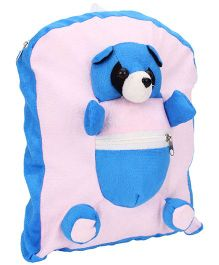 IR Activity Bag Panda Applique Blue - 11 inch