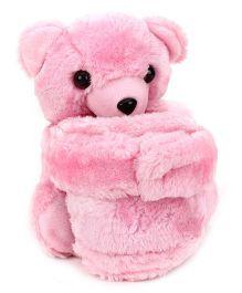 IR Pen Stand Teddy Bear Design - Pink