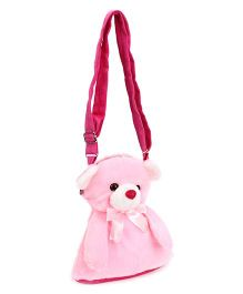 IR Shoulder Bags With Teddy Face Design