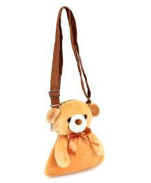 IR Teddy Bear Shaped Purse - Brown