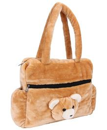 IR Teddy Bear Shouder Bag - Brown