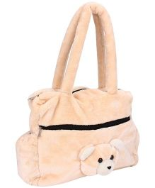 IR Teddy Bear Shouder Bag - Peach
