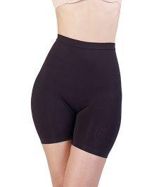 Swee Low Waist And Short Thigh Shaper Iris -  Black