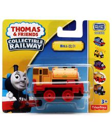 Thomas And Friends Salty Bill Collectible Railway - Red And Orange