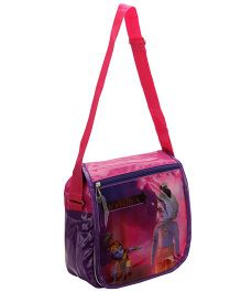 Little Krishna Flap Sling Bag Purple And Pink - Height 11 Inch