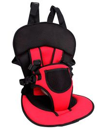 Multi Function Car Cushion Red And Black - CA C01