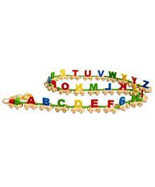 Skillofun Capital Alphabets Wooden Train - Multi Color