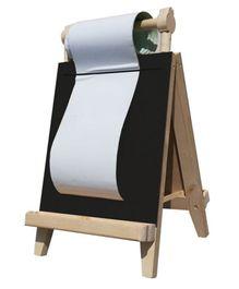 Skilloffun Wooden Three-in-One Easel Board - Brown