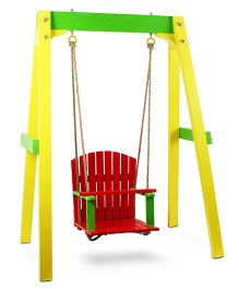 Skilloffun Wooden Swing - Multicolour