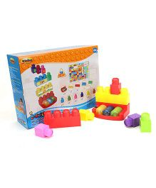 I-Builder ABC 'n Tunes Set Red And Multicolour - 35 Pieces