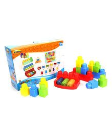 I-Builder 1-2-3 'n Tunes Set Multicolour - 26 Pieces
