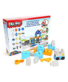 I-Builder Police Station Set Multicolour - 40 Pieces