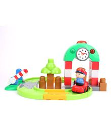 I-Builder Train Station Set Multicolour - 39 Pieces
