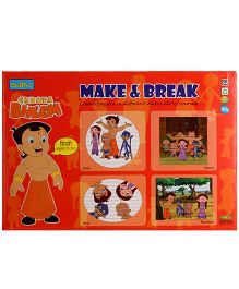 Chhota Bheem DIY Make And Break - Multicolour