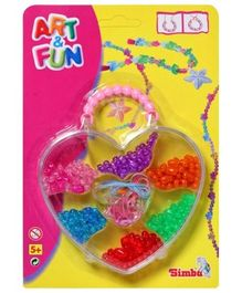 Simba - Art & Fun Beads Heart Case Set