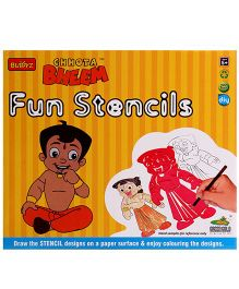 Chhota Bheem DIY Fun Stencils - Multicolour