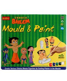 Chhota Bheem DIY Mould & Paint - Multicolor