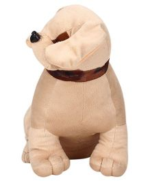 Natkhat Bull Dog Soft Toy Cream - 37 cm
