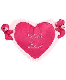 Natkhat Beatle Heart  - Pink