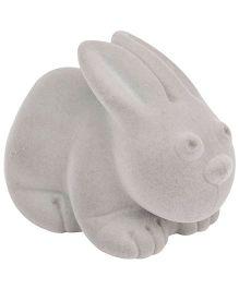 Rubbabu Rubber Foam Rabbit - Light Grey