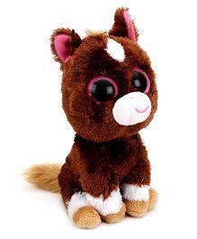Beanie Babies Dakota Horse Brown - Height 6 Inch