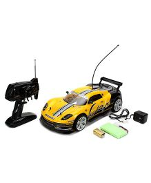 Dash Street League Remote Control Drifting Racing Car - Yellow Black