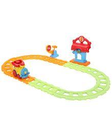 SkyKidz Zooming Biggy Train - Yellow Red