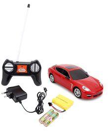 Dash Porsche Panamera Turbo Remote Control Car - Red