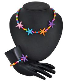 Angel Glitter Rockstar Jewellery Set - Multi Color