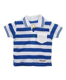 FS Mini Klub Collar Neck T-Shirt Stripes - Blue