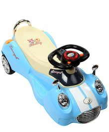Twister Car Blue And Cream - 6603