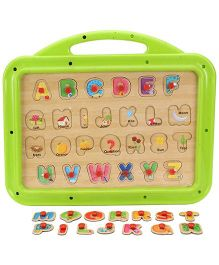 Funworld 3 In 1 ABC Puzzle Slate