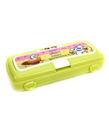Pratap Hy Fly Pencil Box With Marker - Green