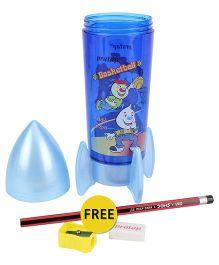Pratap Rocket Compass Box - Blue