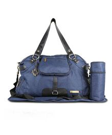 My Milestones Diaper Bag - Dark Blue