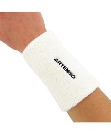 Artengo Wrist Band LG Bands - White