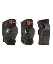 Oxelo Basic KIds Protection Set Set Of 3 - Black