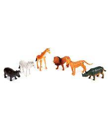 Smiles Creation Wild Animal Set - Multicolour