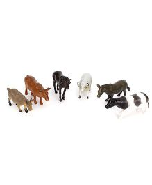 Smiles Creation Farm Animals Set - 6 Figurines