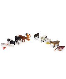 Smiles Creation Farm Animals Set - 10 Figurines