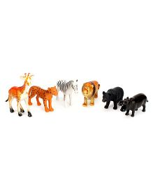 Smiles Creation Wild Animals Set - 6 Figurines
