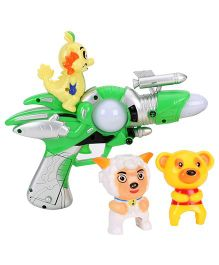 Smiles Creation Flash Electric Gun - Green