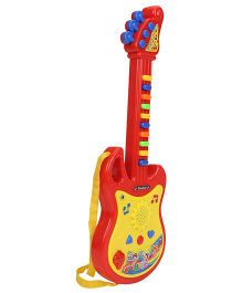 Smiles Creation Battery Operated Musical Guitar - Red