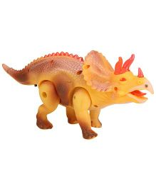 Smiles Creation Battery Operated Dinosaur Yellow - 27 cm