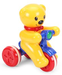 Smiles Creation Bear Tricycle - Yellow