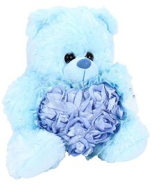 Funzoo Jewel Bear Soft Toy Blue - Height 10 Inches