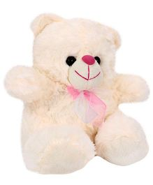 Funzoo Bella Bear Soft Toy Cream - Height 10 Inches