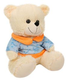 Funzoo Cloudy Bear Soft Toy Cream - Height 12 Inches
